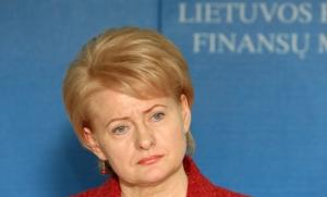 """Dalia Gybauskaite - wer zwingt die Präsidentin, das so genannte litauische """"Moralgesetz"""" zu unterschreiben?"""