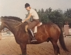 Antje auf Pferd
