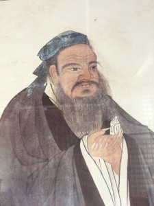 Konfuzius. Foto: Antje Schrupp